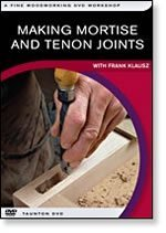 MAKING MORTISE AND TENON JOINTS - With Frank Klausz by Peachtree Woodworking