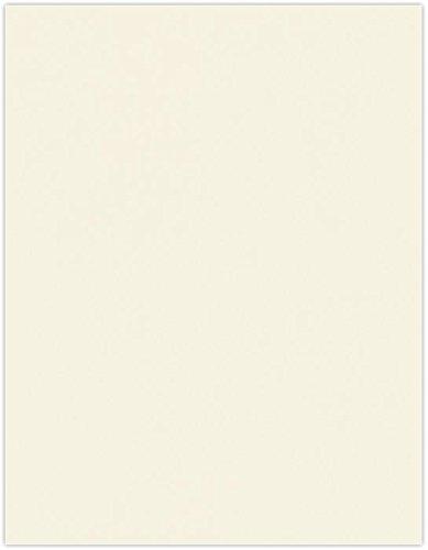 8 1/2 x 11 Paper- 24lb. Classic Crest Baronial Ivory | Perfect for Printing, Copying, Crafting, Resumes,various Business needs | 24lb. Paper | 81211-P-CC24BI-50