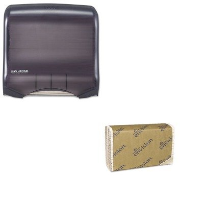 KITGEP25190SJMT1750TBKRD - Value Kit - Georgia Pacific C-Fold Paper Towel (GEP25190) and San Jamar Ultrafold Towel Dispenser (SJMT1750TBKRD)