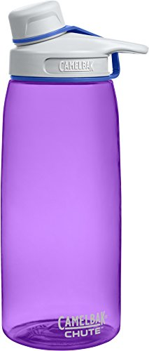 1l Part (CamelBak Chute Water Bottle, Lotus, 1 L)
