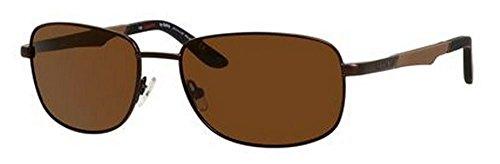 Carrera 8007/S Sunglasses CA8007S-1F1P-VW-5817 - Brown Frame, Brown Polarized Lenses, Lens