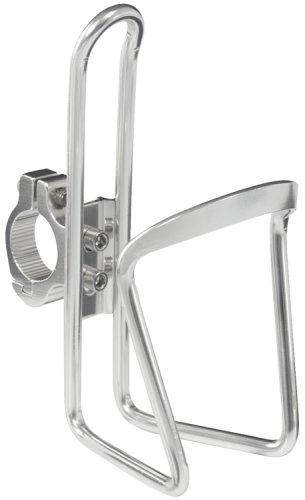 Avenir Handlebar Bicycle Bottle Cage Silver 25 4
