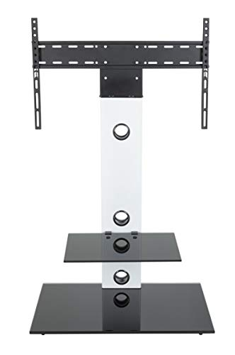 AVF FSL700LESW-A Lesina TV Floor Stand with TV Mounting Colu