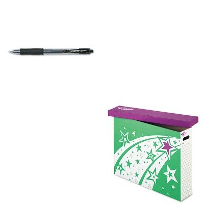 KITPIL31020TEPT1022 - Value Kit - Trend File 'n Save System Chart Storage Box (TEPT1022) and Pilot G2 Gel Ink Pen (PIL31020) (System Ink Storage Kit)