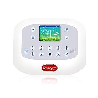 Pantalla a todo color GSM PSTN Sistema de alarma de ...