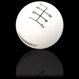 C-west Body (Corvette Shift Knob - Hurst Logo w/6 Speed Pattern : C5 & Z06)