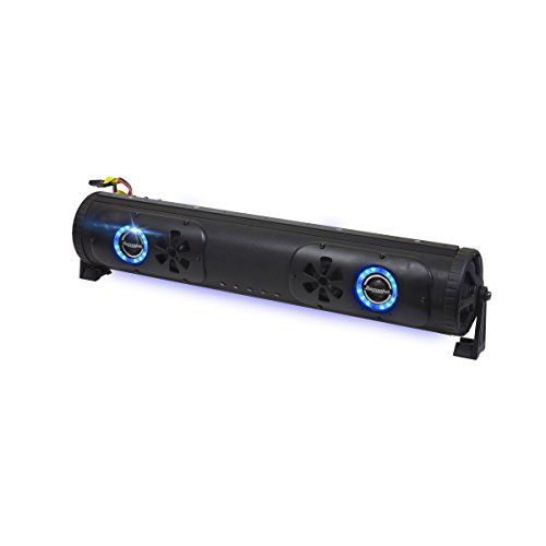 BPB24-DS Bazooka Double Sided Bluetooth Party Bar with LED Illumination System