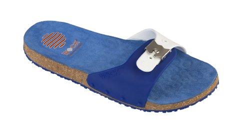 WOCK Unisex-Erwachsene Sanus Clogs Blau (Blau)