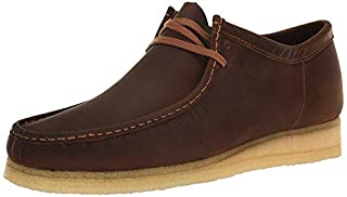 CLARKS Men's Wallabee, Beeswax Leather, 9.5 D - Medium (B00IJLU0DY) | Amazon price tracker / tracking, Amazon price history charts, Amazon price watches, Amazon price drop alerts