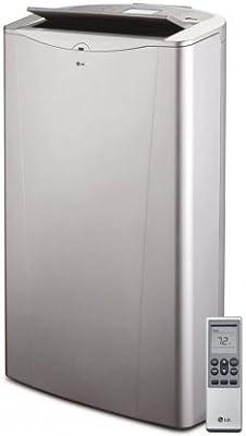 LG LP1415SHR Portable Air Conditioner, 115V w/Electric Heat, Dehumidifier, & Remote - 14,000 BTU