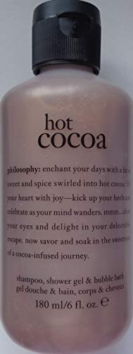 Philosophy Shampoo, Shower Gel & Bubble Bath Hot Cocoa 6 fl oz / 180 ml