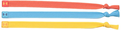 (Under Armour Women's Mesh Tie - 3 Pack, Clementine /Rise, One Size)