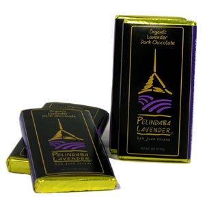 Pelindaba Organic Lavender Gourmet Dark Chocolate Bar - 1.25 oz ()