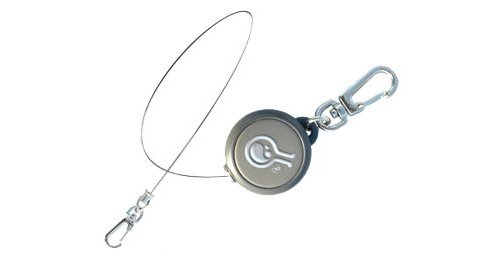 HAZARD 4 Civilian Rewind Gear Retractor Steel Cable Keychain Style Spring Winding Lanyard, (Acs Reel)