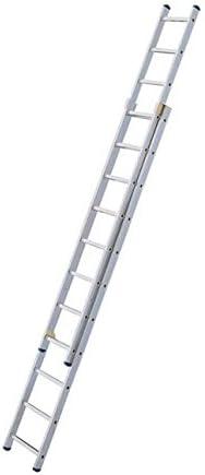 Hailo – Escalera corredera en Alu 2 x 11 haut. trabajo 6,19 M – Hobbystep: Amazon.es: Bricolaje y herramientas