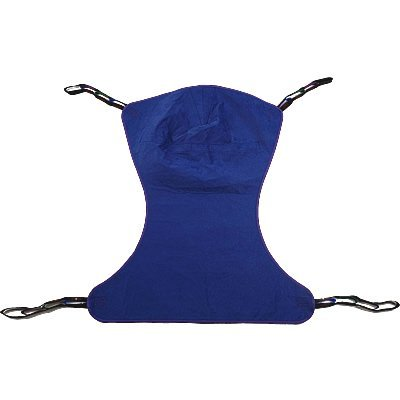Proactive Medical Full Body Solid Fabric Patient Lift Sling without Commode, Medium