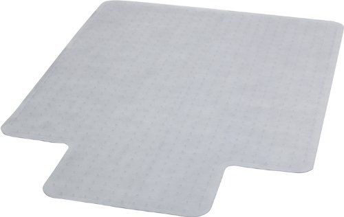 x 53'' Carpet Chair Mat with Lip (Chair Mat 45x53 25x12 Lip)