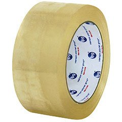 Intertape USA Premium Packaging Tape (Clear, #400 (2.1 mil), 3'' (72 mm) x 110 yards, 1 Case)