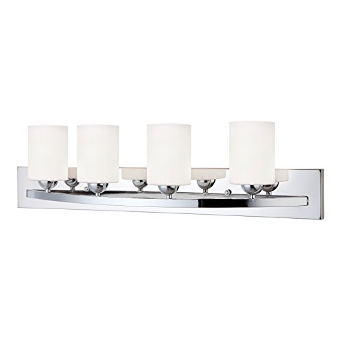 Chrome 4 Globe Vanity Bath Light Bar Interior Lighting Fixture