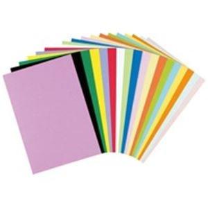 (業務用10セット) リンテック 色画用紙/工作用紙 【四つ切り 100枚】 薄青 NC216-4 B07PJNMTJ8