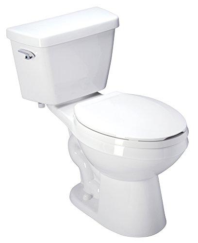 "Zurn Z5551 ADA, Elongated, 3"" HPT Performance, Siphon Jet, 1.6 gpf Two-Piece Toilet"