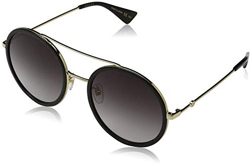 Gucci GG0061S 001 Gold 0061S Round Sunglasses Lens Category 3 Size ()