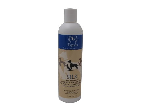 (Espana Silk ESP2115DC Specially Formulated Silk Protein Antiseptic Conditioner for Dogs and Cats, 16.91-Ounce)