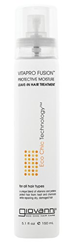 GIOVANNI- Eco Chic VitaPro Fusion Leave-In Hair Treatment- Protective Moisture for All Hair Types (5.1 Ounce)