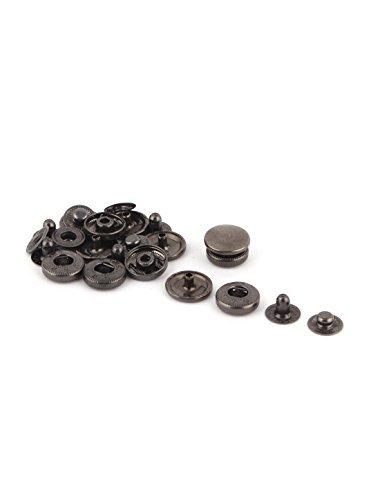 DealMux metal Unisex jeans Calças Tack Botão Ornament Decor substituição 6 Define -