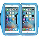 2Pack Universal Sports Armband for 5.7 Inch Screen Apple iPhone 6/6s iPhone 6/6s Plus Samsung Galaxy S7/S6/S5/S4 Sweatproof Running ArmBelt With Small Holder & Pouch for Keys Card