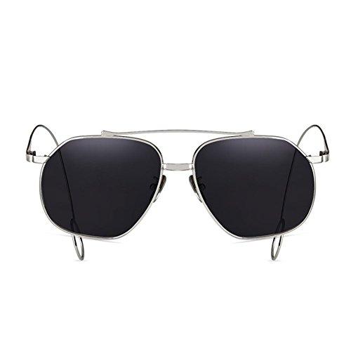Sol DT Transparente Pendientes TD Color de 1 2 Gafas de para Gafas Hombre Cara Sol Hembra Harajuku cuadradas Cuadrada dq1IwCBqrc