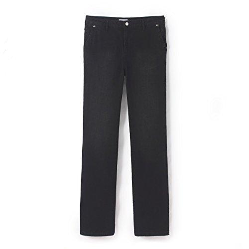 Flare La Redoute Nero Collections Donna Jeans Spazzolato FgOgxHwqS