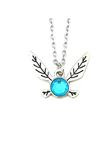Price comparison product image The Legend of Zelda Pendant Necklace Character Cartoon Superhero Gaming Console PC Games Logo Theme Link Navi Triforce Cosplay Premium Quality Detailed Jewelry Gift Series