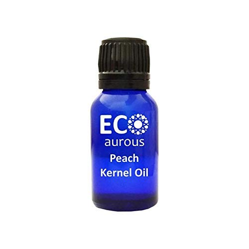 Peach Kernel Oil (Prunus Persica) 100% Natural, Organic, Vegan & Cruelty Free Peach Kernel Carrier Oil | Pure Peach Kernel Oil By Eco Aurous ()