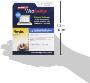 Enhanced WebAssign College Physics Access Card (One Term