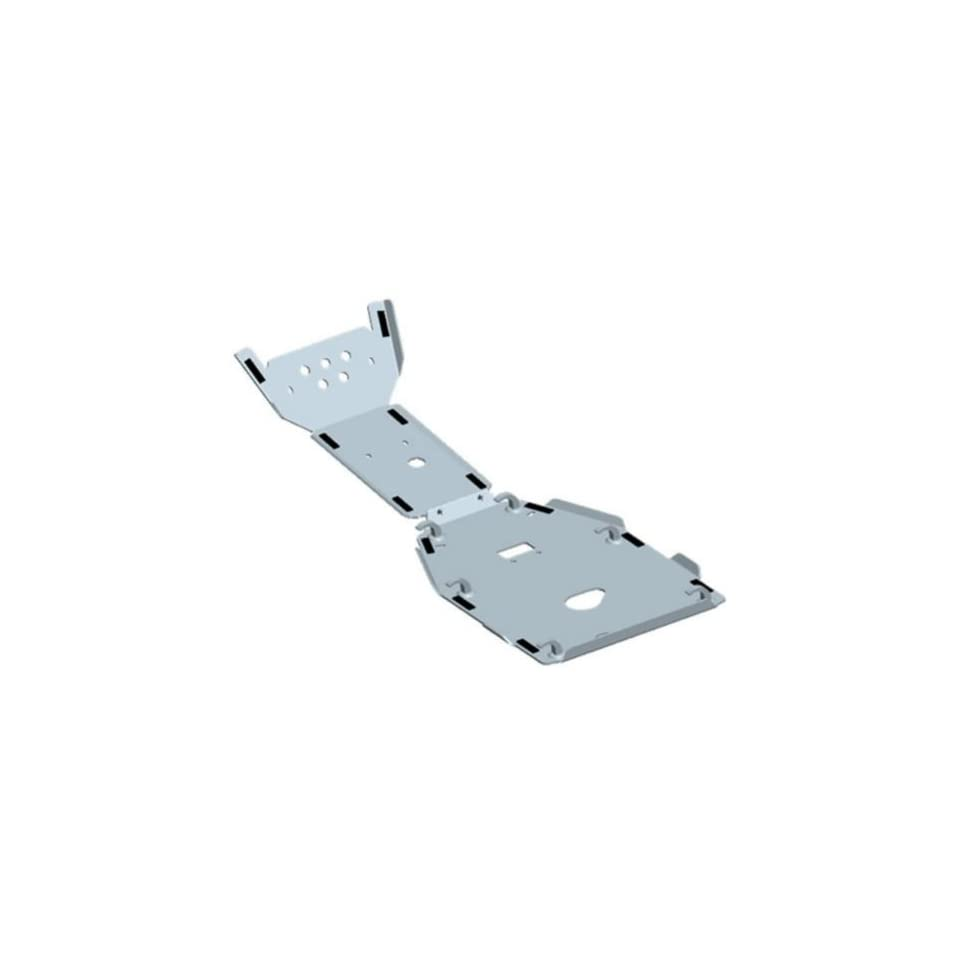 Yamaha 1CT F84R0 V0 00 Engine Skid/Front Bash Plate Combo for Yamaha Grizzly 400/450
