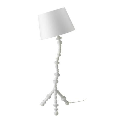 IKEA PS Svarva - Lámpara de pie, blanco: Amazon.es: Hogar