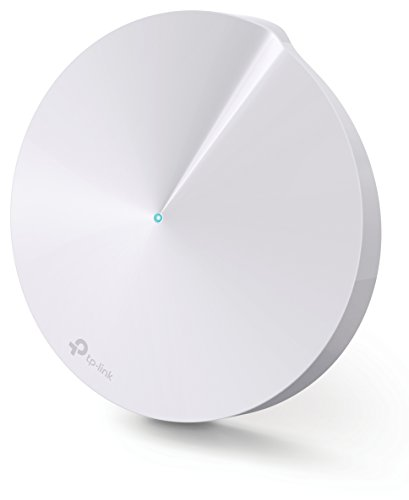 TP-Link Deco M5 1-Pack Whole Home Mesh WiFi System | Unique Antivirus Security Protection and Parental Controls | Up to 1,500 sq. ft. Coverage | Works with Alexa and IFTTT | 1-Pack