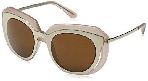 D&G Dolce & Gabbana Men's 0dg6104 Round Sunglasses, Pale Gold/Opal Powder, 51 - Sunglasses D&g 2016