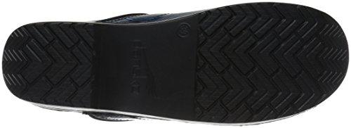 Dansko Professional Damen Rund Leder Schuhpflege Blue Shell