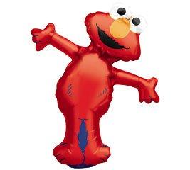 - Elmo Full Body Mini Shape Balloon (1 ct) (1 per package)