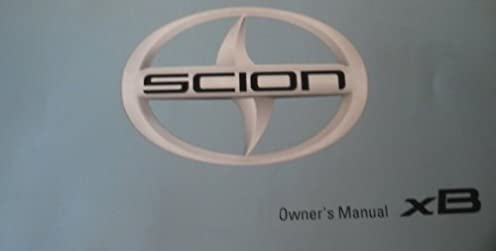 amazon com 2013 scion xb owner manual no supplemental material rh amazon com scion xb owners manual 2009 scion xb owners manual pdf