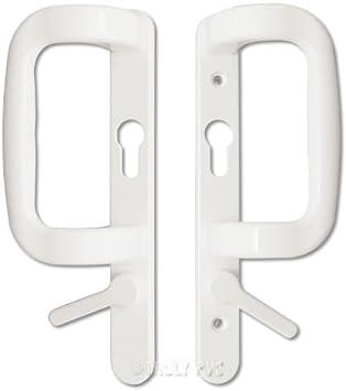 Sparta - Tirador de puerta corredera para patio (90 mm): Amazon.es: Bricolaje y herramientas