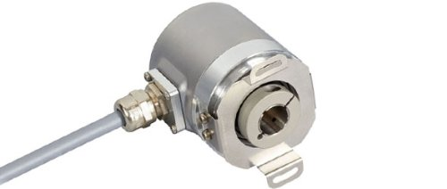 POSITAL IXARC OCD-S6D1G-1213-B060-CRW SSI with Preset + Incremental Push Pull Absolute Rotary Encoder by POSITAL