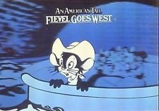 1991 Impel an American Tail Fievel Goes West Hologram #H-2 & H-5 Cards