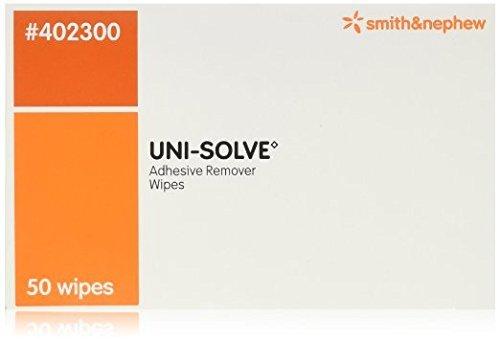 Smith & Nephew Uni-Solve Adhesive Remover - Wipes Box of 100 (100 Box)