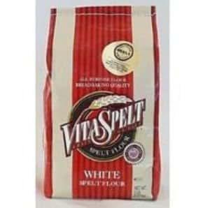 Vita Spelt Spelt White Flour 25 LB - Pack de 1: Amazon.com ...