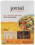 Jovial Organic Einkorn Fusilli Whole Wheat Pasta -- 12 oz