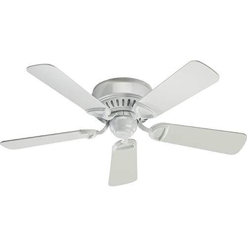 - Quorum International Q51425 Indoor Ceiling Fan from the Medallion 42 Collection, Gloss White