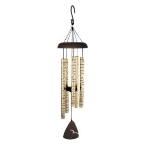 CARSON Sonnet Wind Chime, 30-Inch Length, Comfort and Light